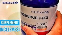 Arjinin Nedir ? Arjinin Nasıl Kullanılır ? Nutrade Arginine HCI 720 Gr Supplement İncelemesi