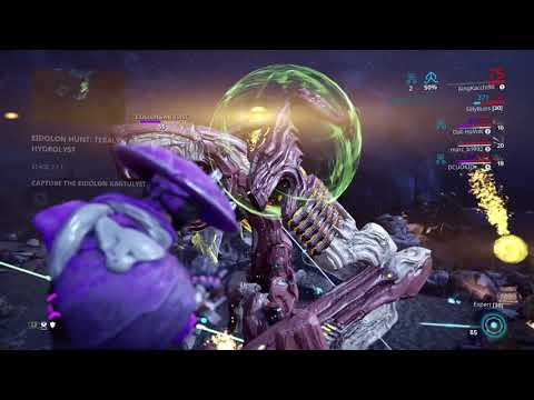 Warframe - Eidolon Hunt Cap Run + My Chroma Build