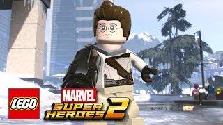 LEGO Marvel Super Heroes 2 - How To Make Egon Spengler (Ghostbusters)