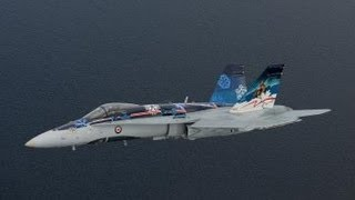 San Francisco Fleet Week 2012- Royal Canadian Air Force CF-18E Demo