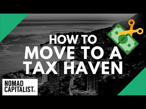 How To Move To A Tax Haven And Pay Zero Tax