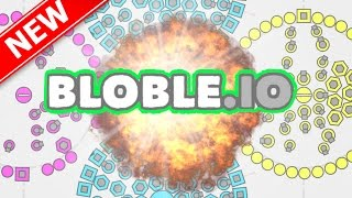Bloble.io THE MOST POWERFUL FORTRESS IN THE WORLD!!! | Brand New Game Like Agar.io / Slither.io!!