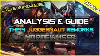 ✔ Mordekaiser Rework - Analysis & Guide | League of Legends | Season 5