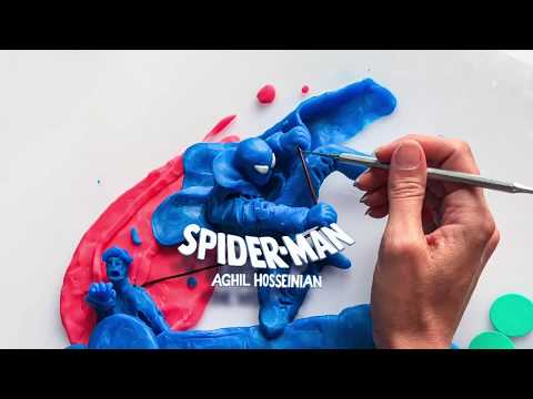 CLAY SPIDER MAN