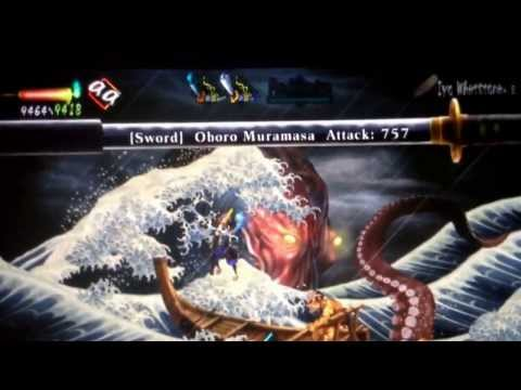 Muramasa Rebirth - Sea Monster Guide / Trophy