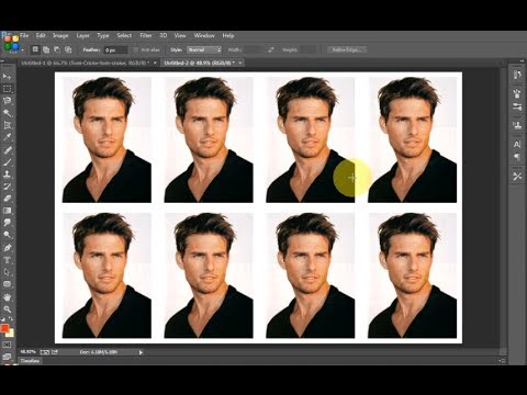 Photoshop Cc Create Passport Size Photograph In A Minute Using