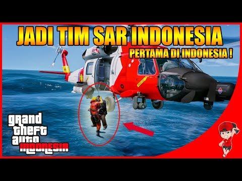 GTA V MOD INDONESIA (29) - PERTAMA DI INDONESIA JADI TIM SAR !