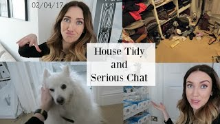 House Tidy & Serious Chat   Vlog 123   May 2nd   Lisa Gregory