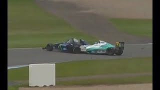 Billy Monger volvió a las pistas tras el grave accidente (04-07-2017) - Carburando.com
