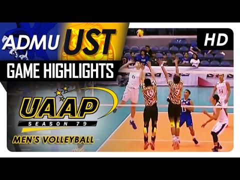 ADMU vs UST | Game Highlights | UAAP 79 MV | February 4, 2017