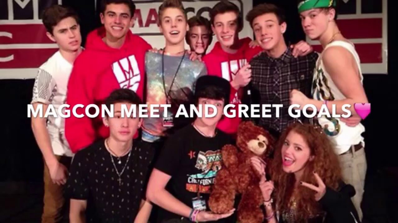Magcon meet and greet goals youtube m4hsunfo