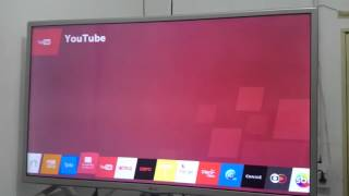 TV com sistema webos 2.0 Hd 32 pol Led plana 32LF595B