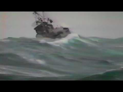 CAPSIZE IN GULF OF ALASKA