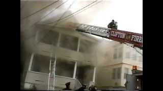 Clifton NJ Fire Dept 3rd Alarm Fire West 3rd St Nov 18th 2004