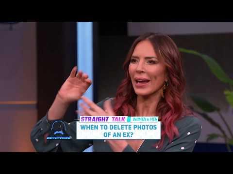 Straight Talk: Deleting Photos Of The Ex || STEVE HARVEY