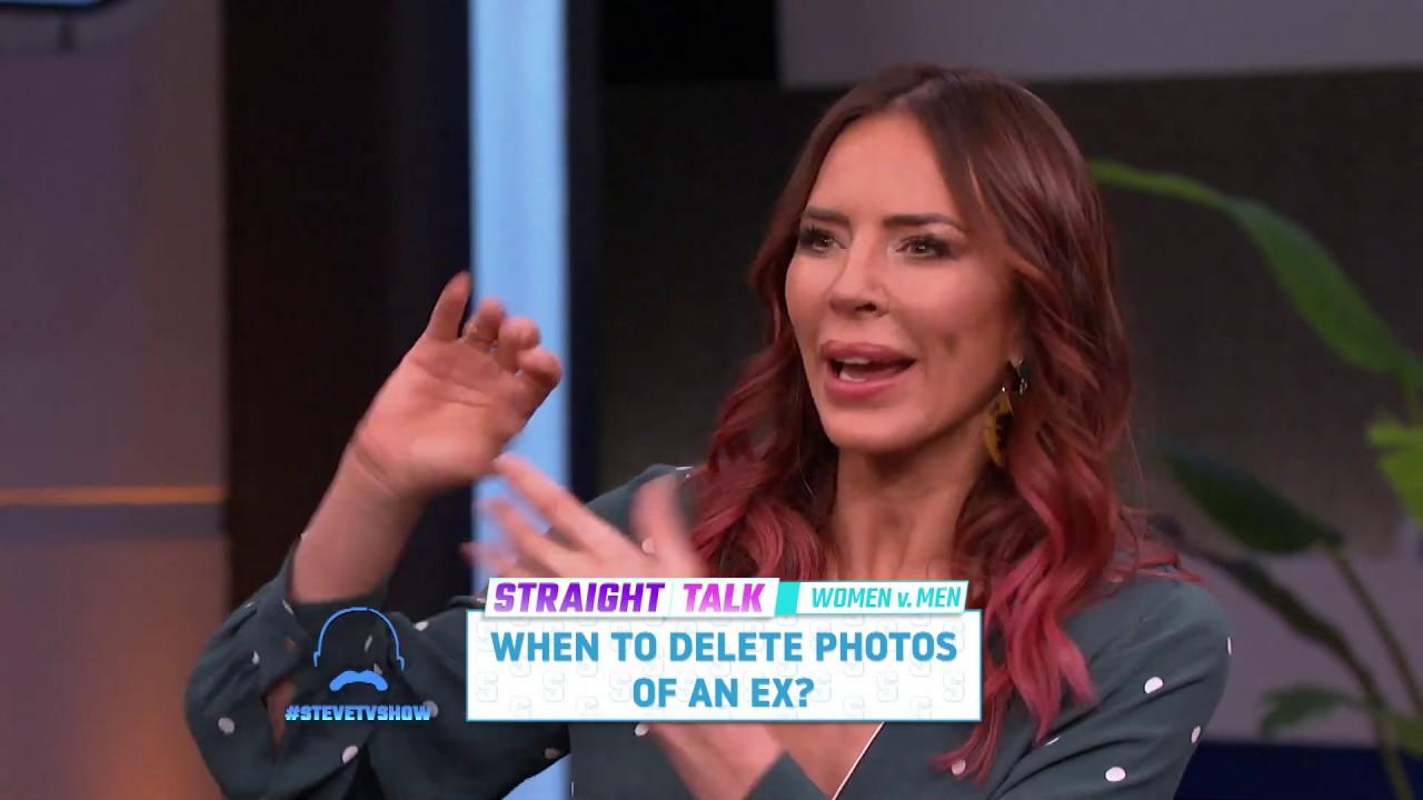 Straight Talk: Deleting Photos of the Ex    STEVE HARVEY