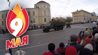 Парад победы 9 мая 2016 года в Томске