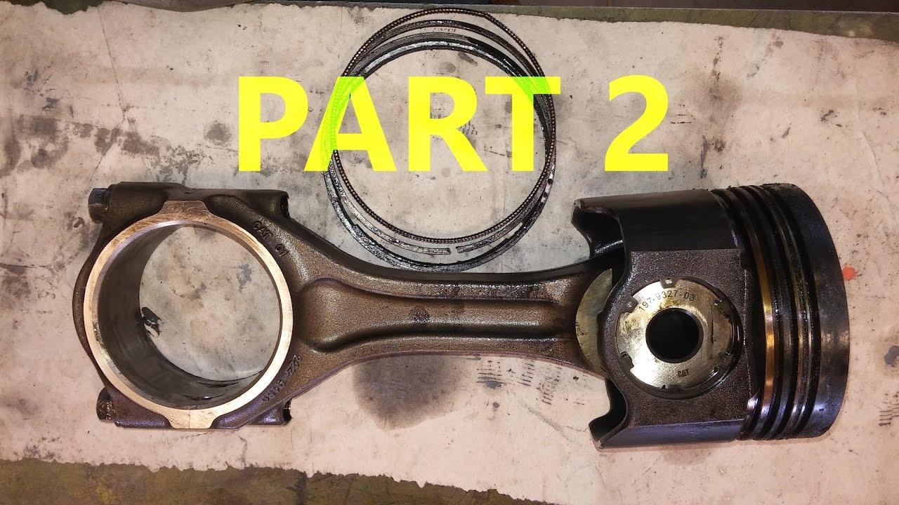 How To Rebuild A Diesel Engine Part 2 Piston Packs