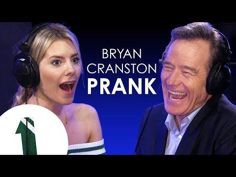 Bryan Cranston pranks UK pop star Mollie King