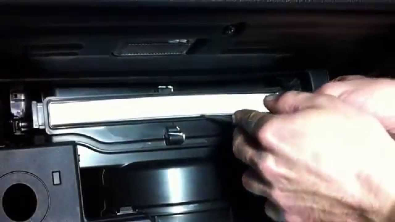 Kia Sportage Sl How To Cabin Air Filter Replacement Youtube