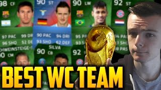 FIFA 14 THE BEST WORLD CUP TEAM