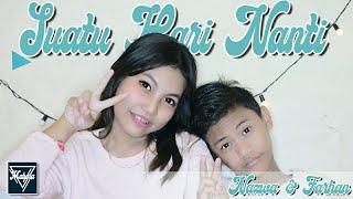 Download SUATU HARI NANTI - WONDER BOYS | COVER KENTRUNG SENAR 3 BY FARHAN & NAZWA - MABORA TEAM.