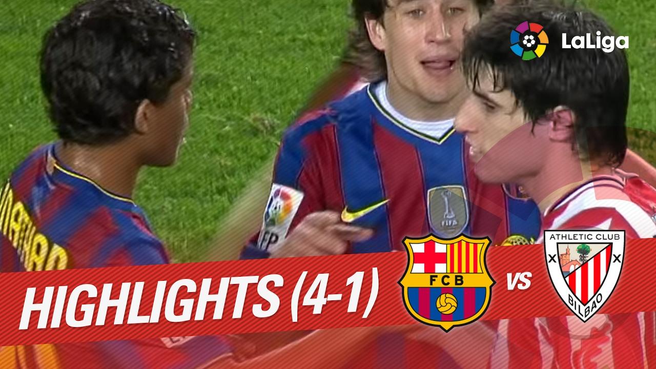 Highlights FC Barcelona vs Athletic Club (4-1) 2009/2010 ...