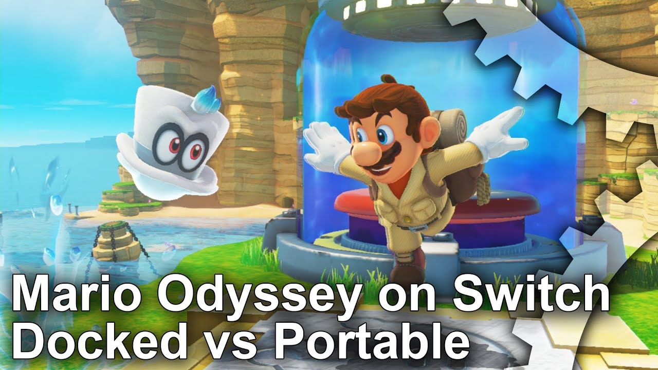 Super Mario Odyssey runs at 900p when docked on Switch - VG247