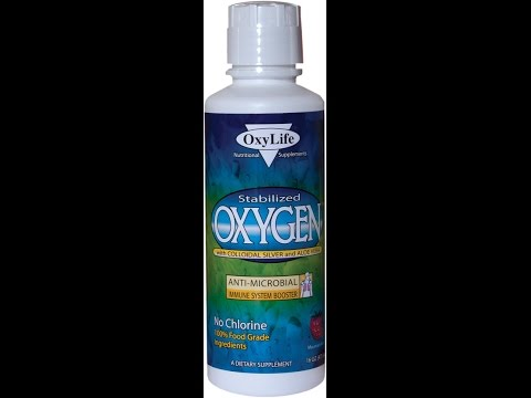 OxyLife Stabilized Oxygen review (H2O2 + Colloidal Silver + Aloe Vera)