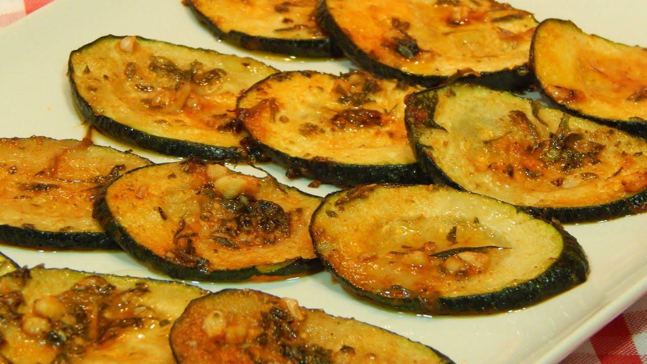 Recetas De Cocina Con Calabacin | Calabacin Adobado Al Horno Receta Facil Youtube
