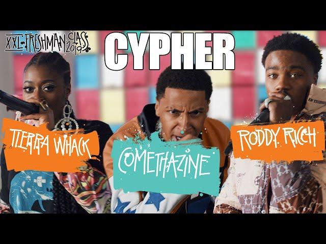 Roddy Ricch, Comethazine and Tierra Whacks 2019 XXL Freshman Cypher