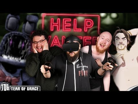 LURED BACK INTO HELL! (ft. Arin Hanson) | FNAF VR: Help Wanted