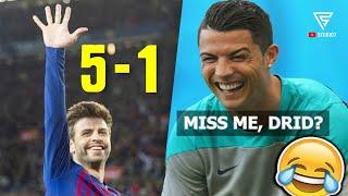 Saat Hukum Karma Terjadi Dalam Sepakbola - Karma Instan Dari Ronaldo