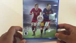 Fifa 16 PS4 Unboxing