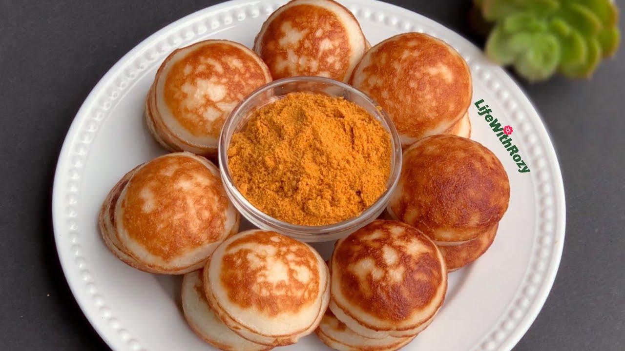 How To Make Masa Waina Rice Pancake Youtube