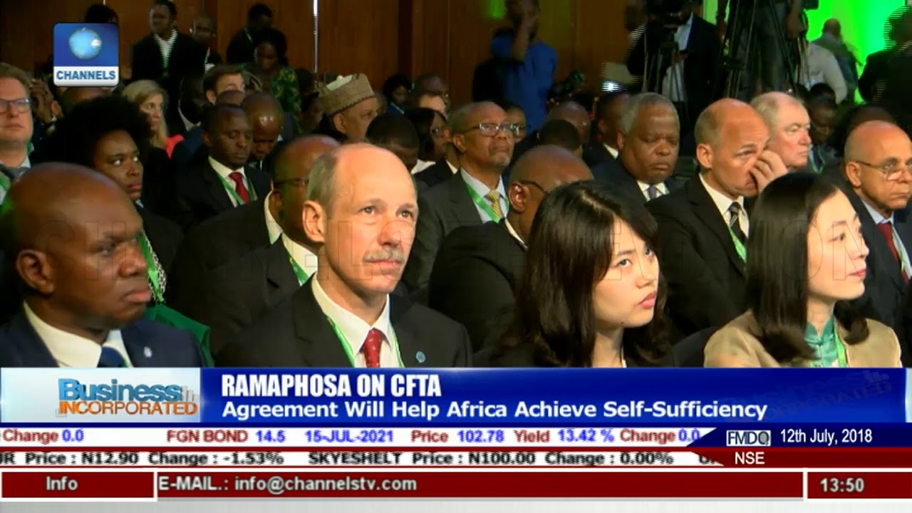 Ramaphosa Describes AfCFTA As A New Dawn For Africa |Business Incorporated|