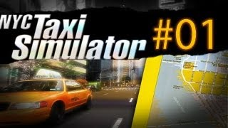 Let's Play New York City Taxi Simulator #01 - Pure hate