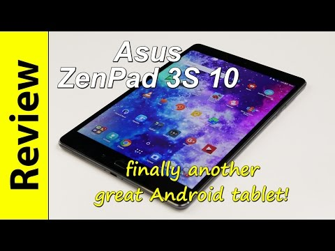 Asus ZenPad 3S 10 Review | finally another great Android Tablet!
