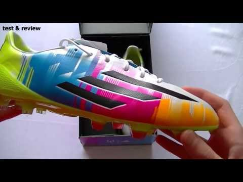 Unboxing - Adidas F50 Adizero Multicolor Messi colorway - FreeKickNL