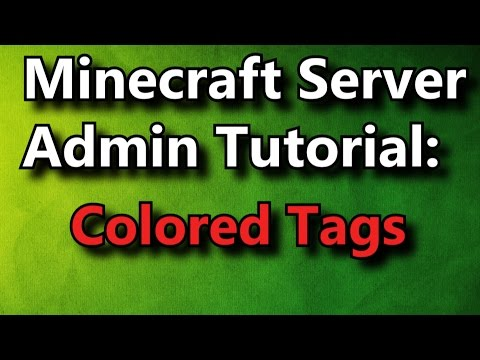 how to make tags minecraft plugin