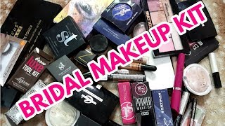 BRIDAL MAKEUP KIT || AFFORDABLE PAKISTANI BRANDS _zainab numan