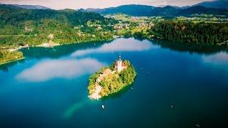 Drone Hiking in Europe (4K)