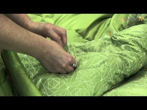 Vango Sleeping Bag - Serenity filmed 2013