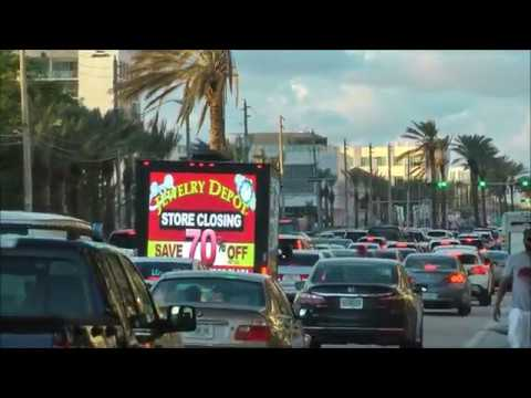 Jewelry Depot Digital Mobile LED Billboard Truck Advertising
