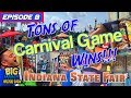 Episode 8: -Tons of Carnival Game Wins!!