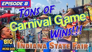 """Episode 8: """"Tons of Carnival Game Wins!!!"""" - Big Wins! Arcade Show"""