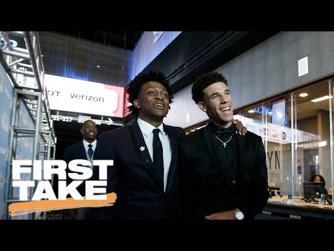 Stephen A. Smith Says Lonzo Ball Not A Lock For NBA Rookie Of The Year    First Take   June 23, 2017