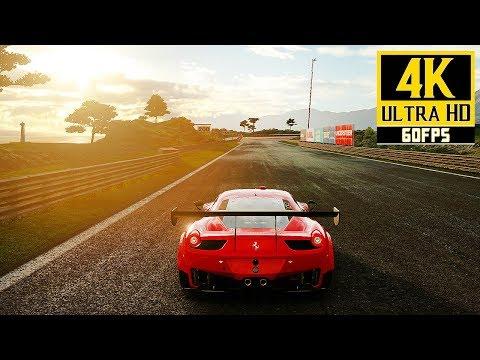 Gran Turismo Sport - Ferrari 458 GT3 Gameplay | Dragon Trail: Seaside @ 4K (60ᶠᵖˢ) HD ✔