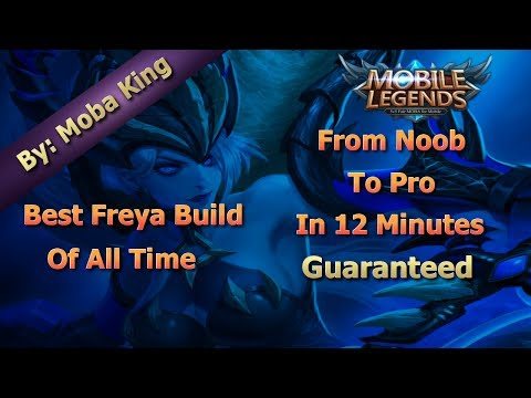 Mobile Legends Best Freya Build Of All Time | Unbeatable Guide