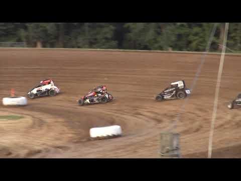 Start P7 Finish P4. - dirt track racing video image